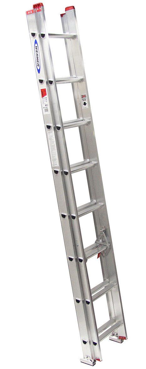 Aluminum Extension Ladder - Al Ghadian & Dowsari Bldg mtrl