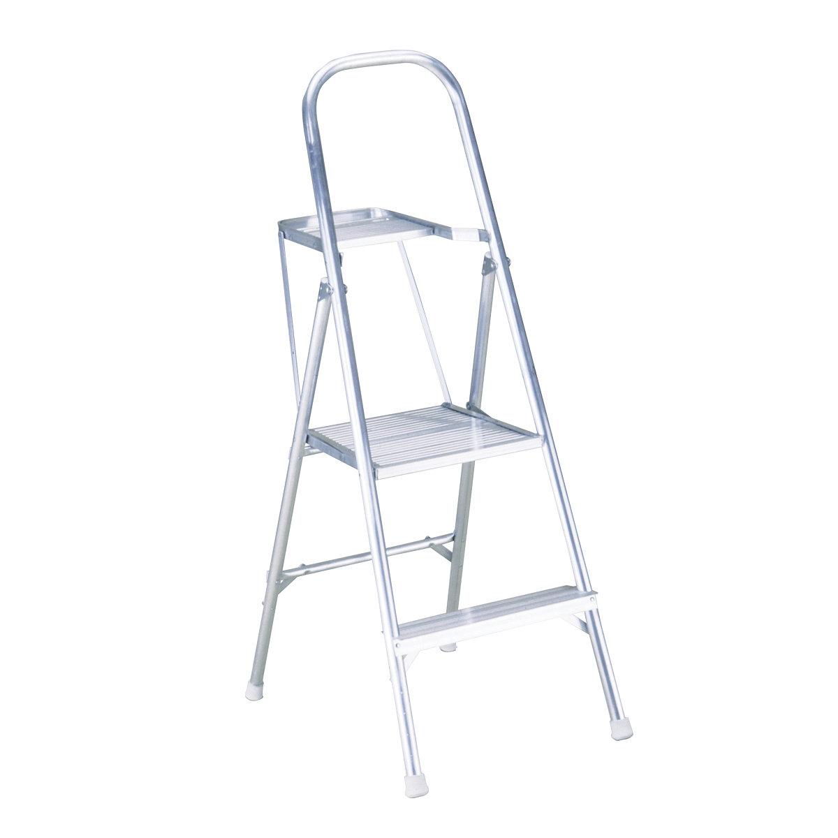 Aluminum Platform Ladder - Al Ghadian & Dowsari Bldg mtrl