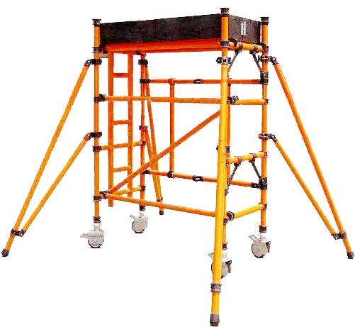 Mobile Scaffolding Towers ( Aluminum / Steel / Fiberglass